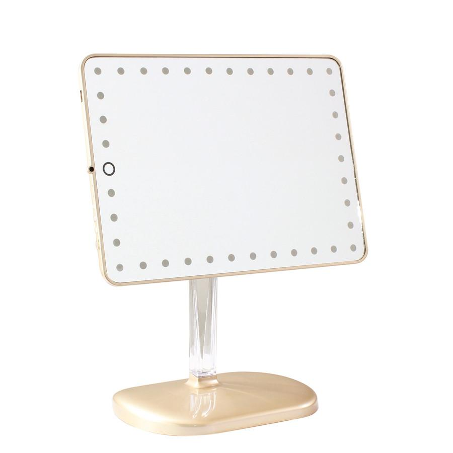 Impressions Vanity Mirror Touch Pro Led Makeup Mirror With Bluetooth Speakers