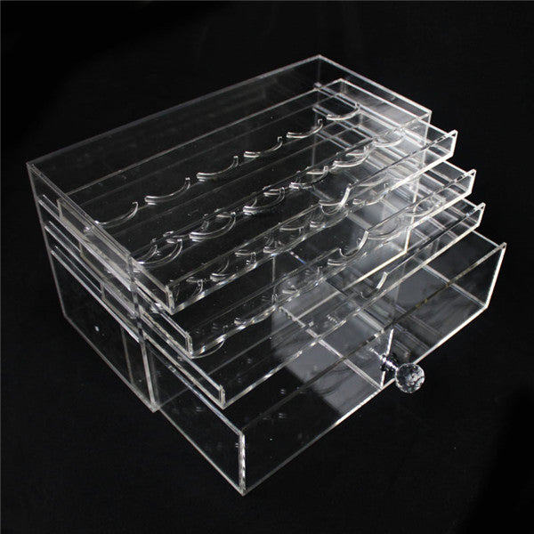 Clear acrylic eyelash case