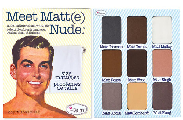 Meet Matt(e) NUDE Eyeshadow