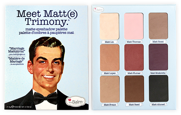 Meet Matt(e) Trimony Eyeshadow