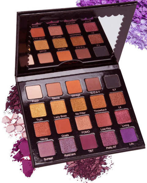 HASH TAG eye shadow palette | Violet Voss