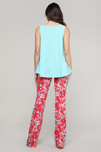 Load image into Gallery viewer, Floral Straight Leg Pants