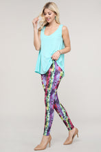 Load image into Gallery viewer, Multicolor Abstract Leggings