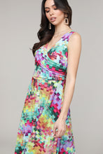 Load image into Gallery viewer, Sleeveless Surplice Dress