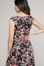 Load image into Gallery viewer, Floral Sleeveless Side Slit Maxi Dress
