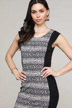 Load image into Gallery viewer, Snake Print Cap Sleeve Dress