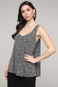 Leopard Swing Tank Top