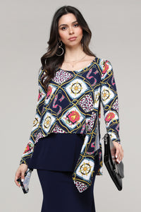 Abstract Layered Top