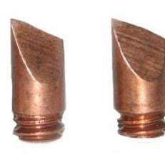 01A - 6.4mm DF replacement tips for Scope SS iron - pack of 10