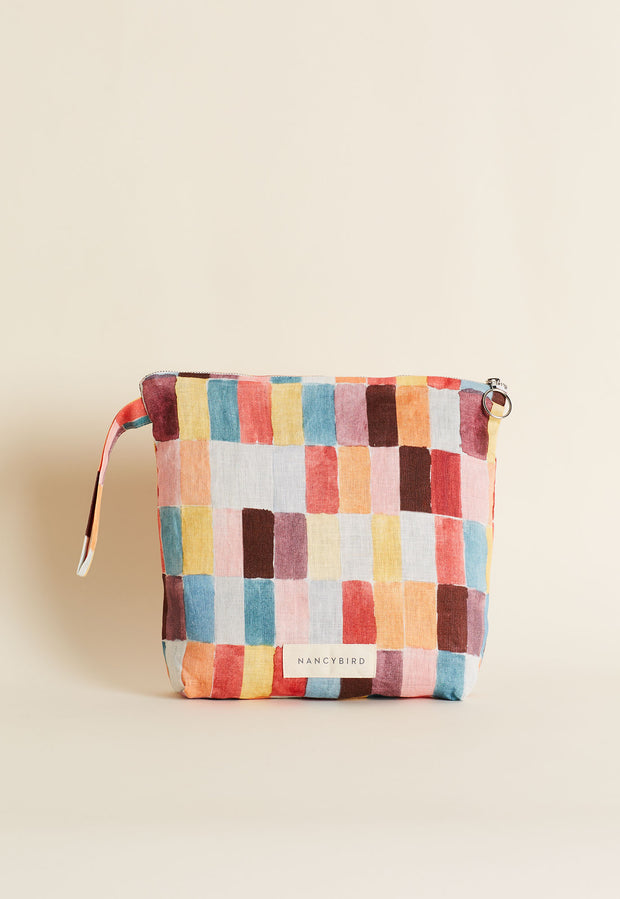 Wash Bag - Domino