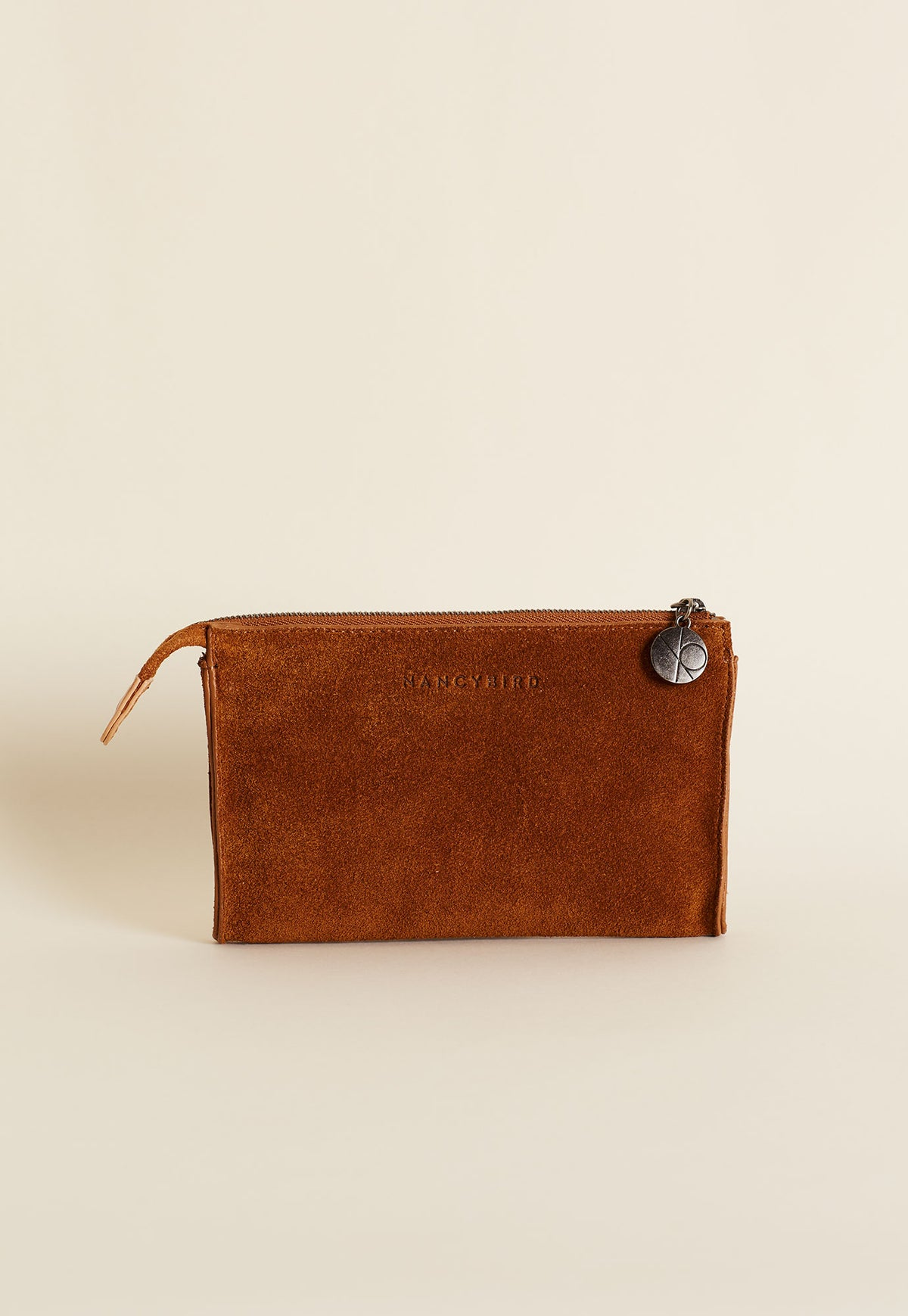 Piper Wallet - Tobacco Suede