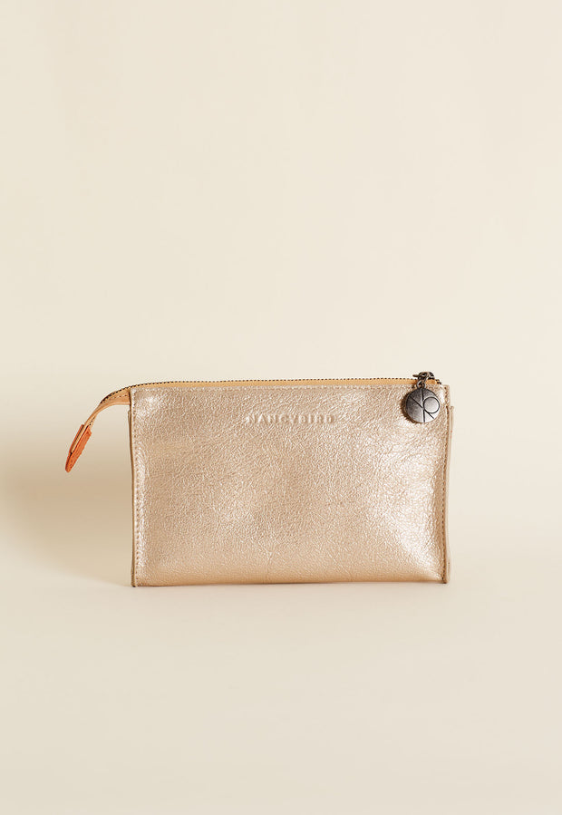 Piper Wallet - Gold Metallic