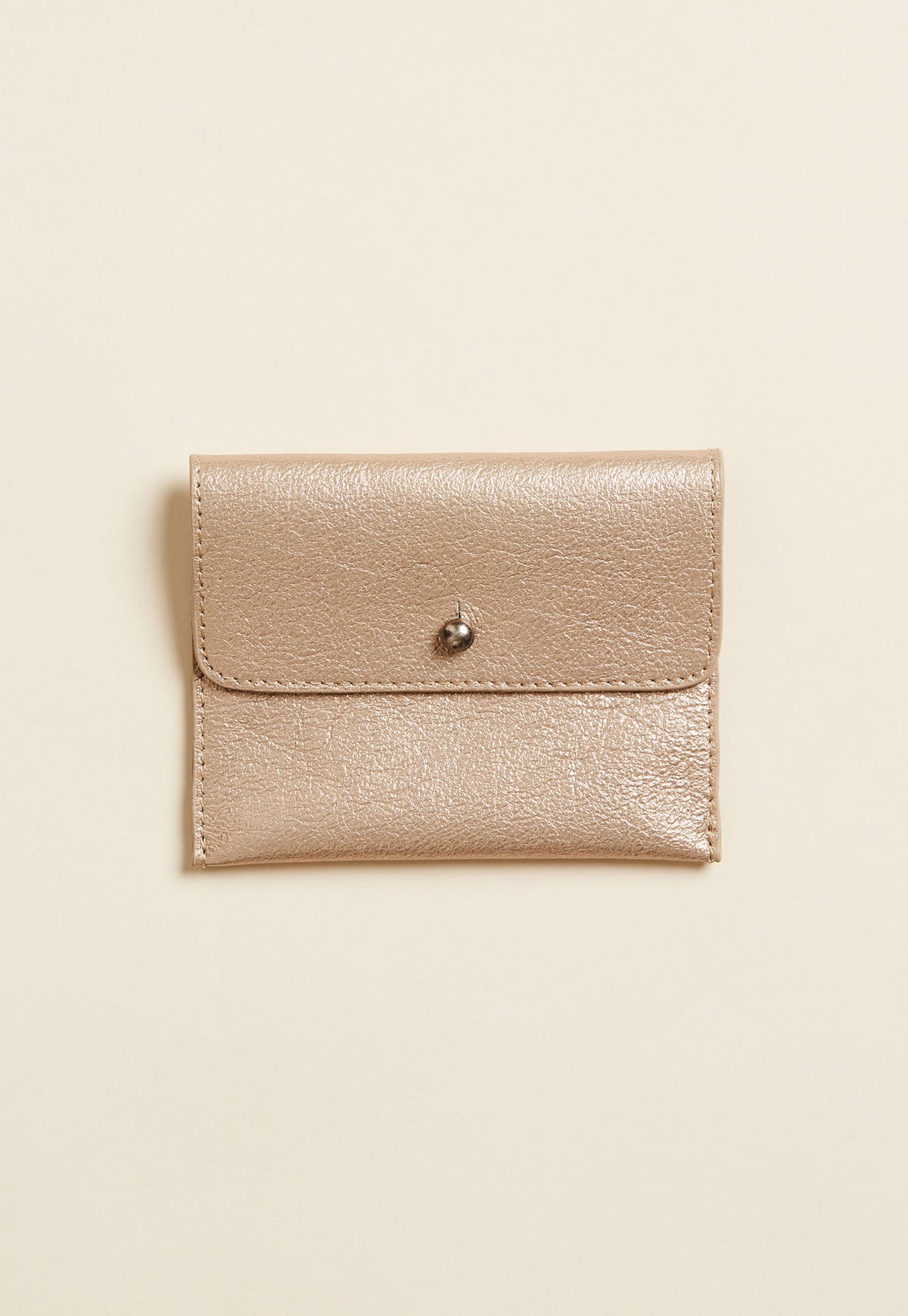 Maya Purse - Gold Metallic