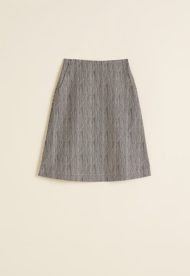 d8013dd8ba Newtown Skirt - Ink Stripe Newtown Skirt - Ink Stripe