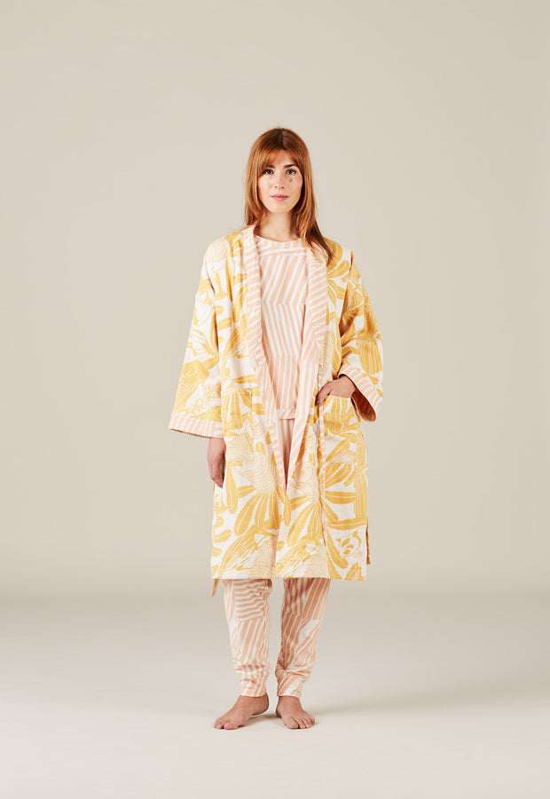 Lounge Gown - Banksia Gold