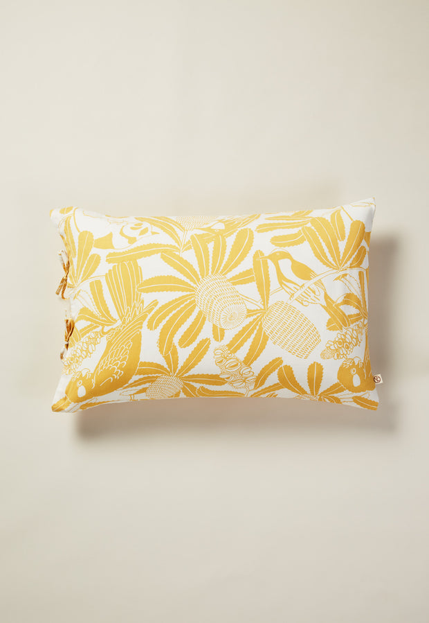 Pillowcase - Banksia Gold