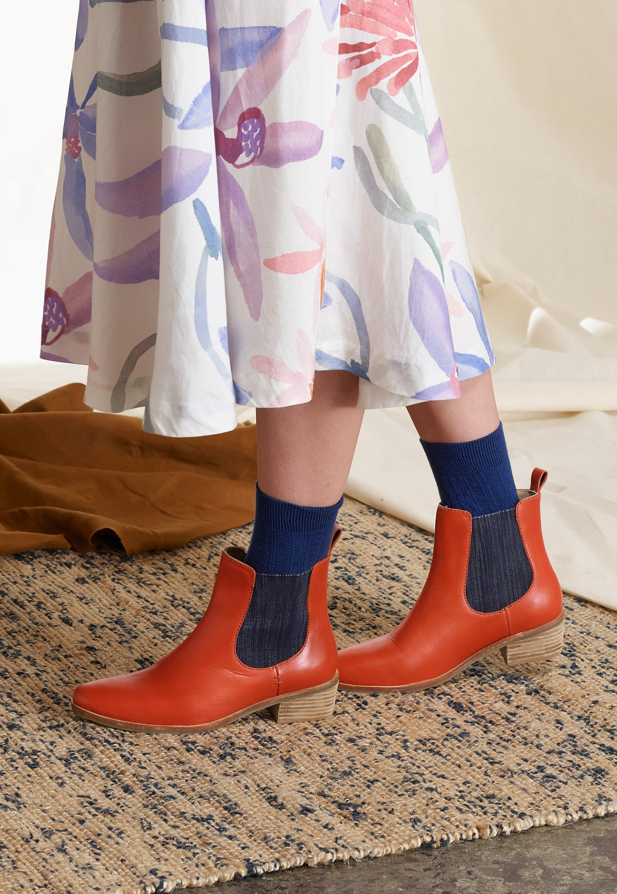 York Chelsea Boot - Paprika