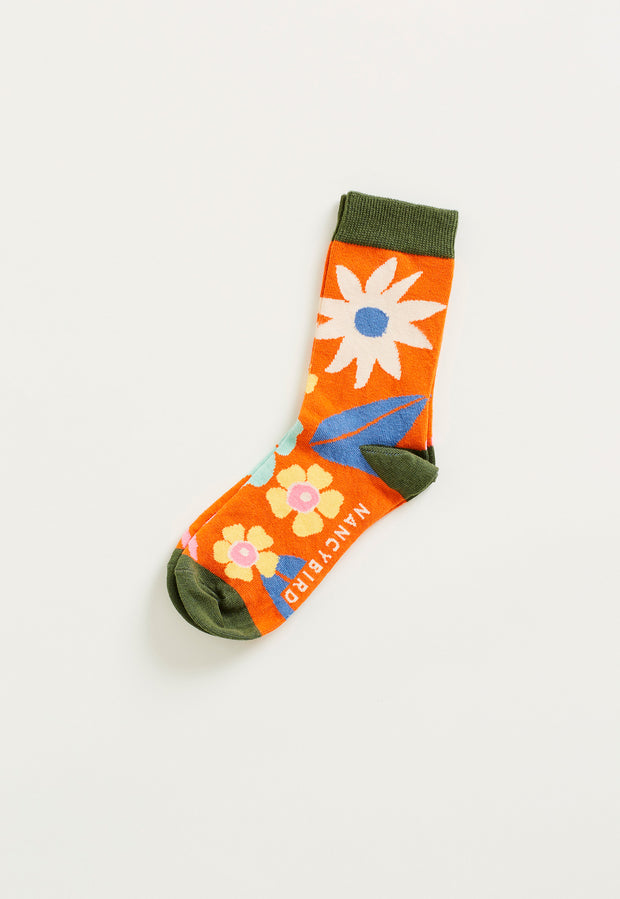 Socks - Summertime Floral