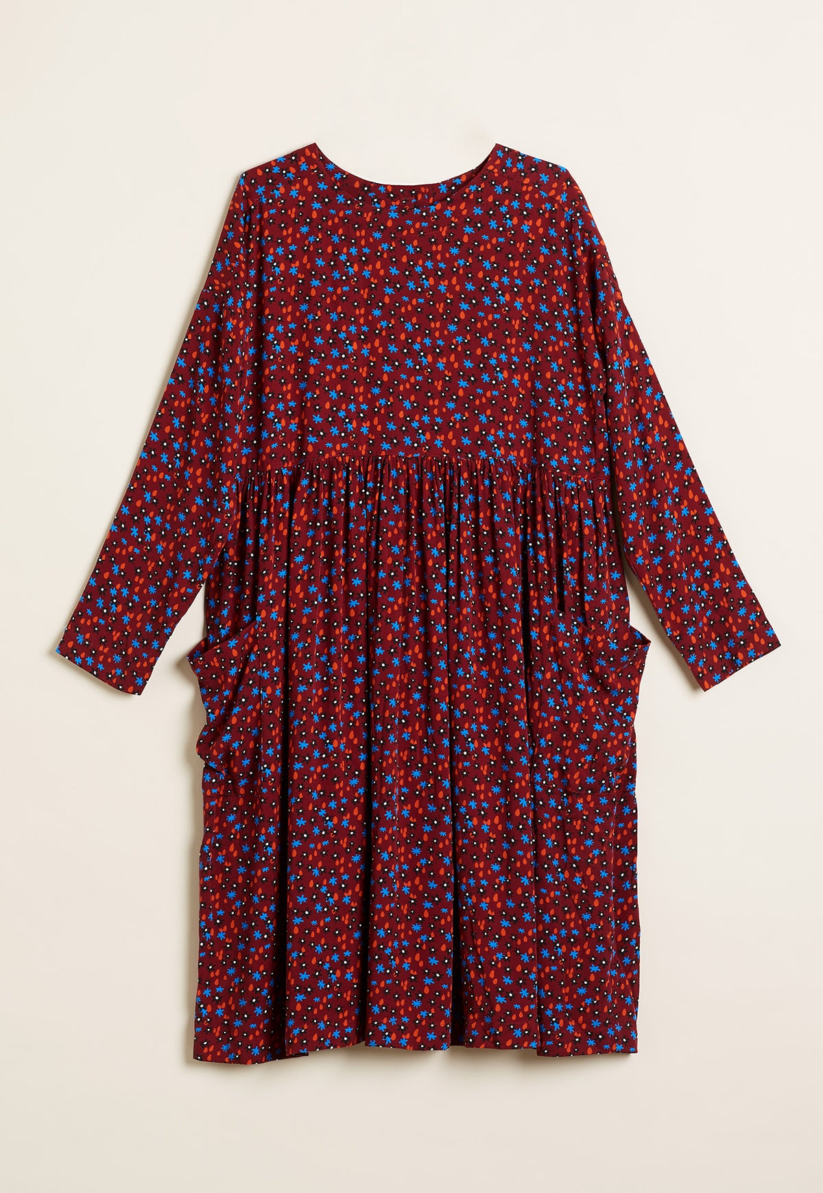 Falls Dress - Ditsy Floral
