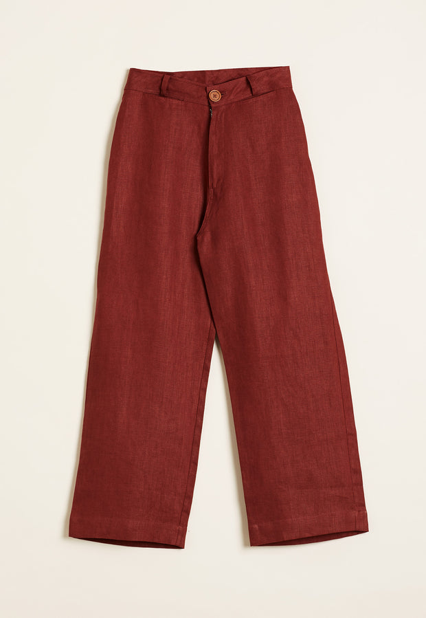 Karratha Pant - Deep Red