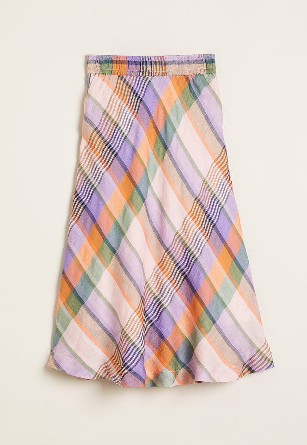Wave Skirt - Dawn Check