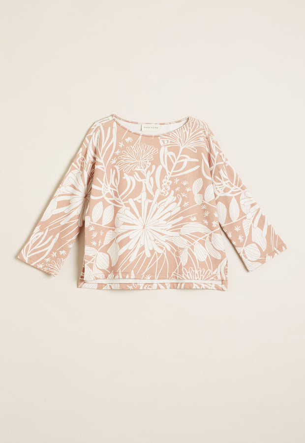Gully Sweatshirt - Pink Pixie Mops