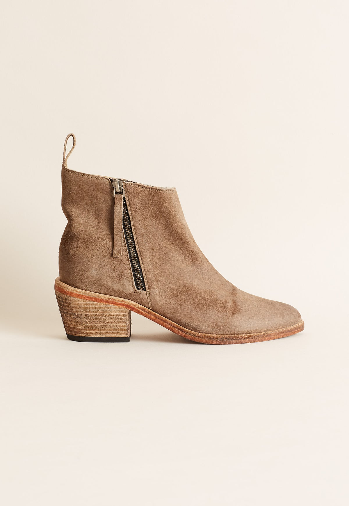 Hedland Suede Boot - Taupe