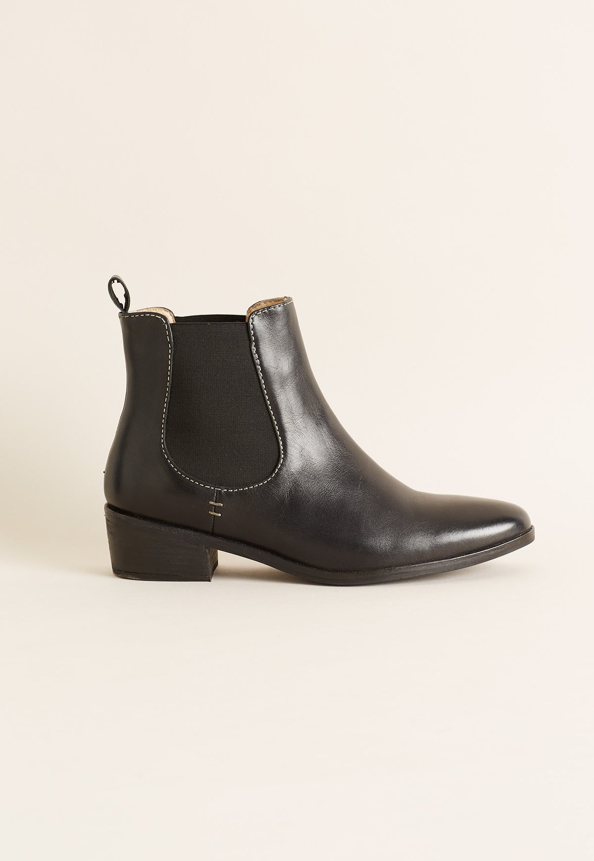York Chelsea Boot - Black