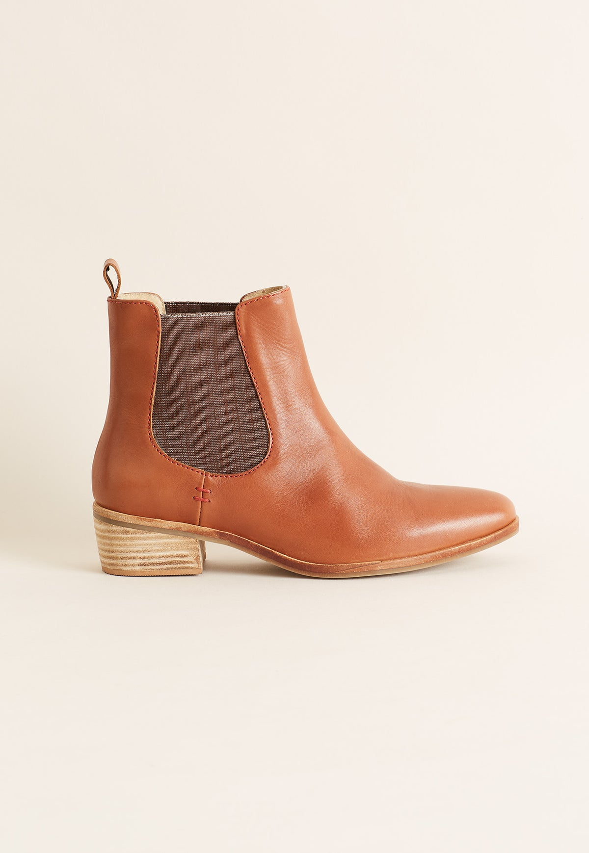 York Chelsea Boot - Chestnut