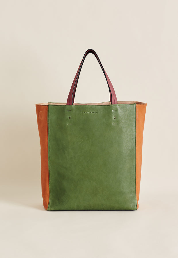 Colour Block Tote - Multi