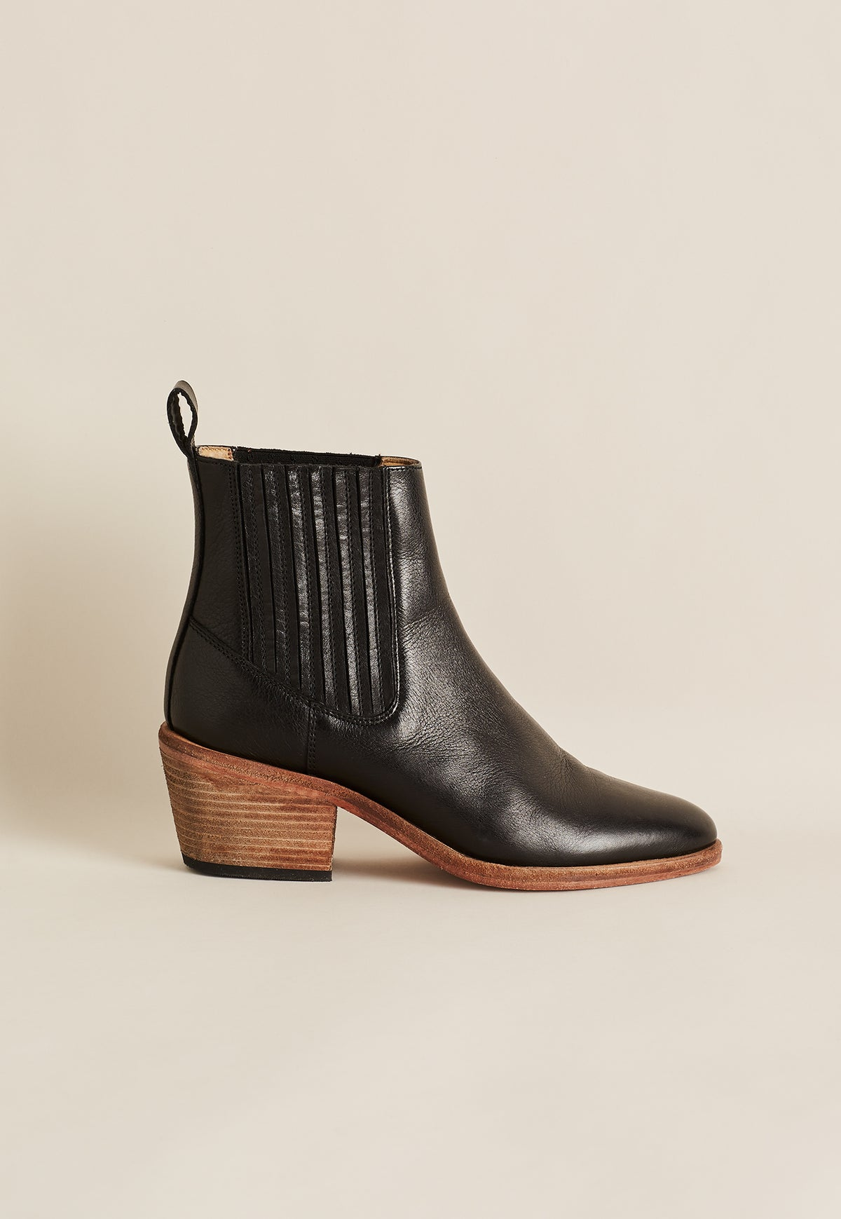 Sectional Boot - Black Ink