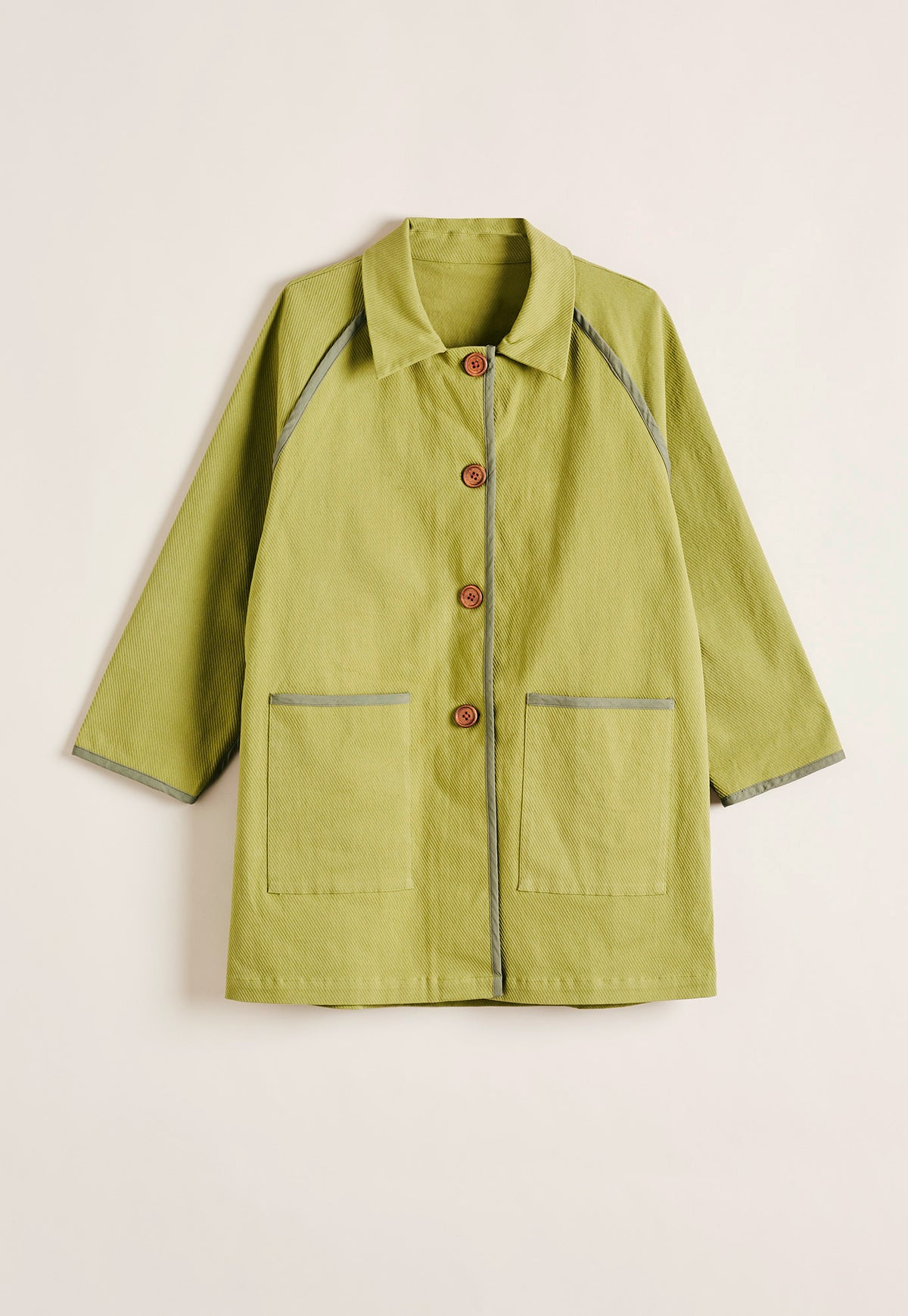 Lela Summer Trench - Olive