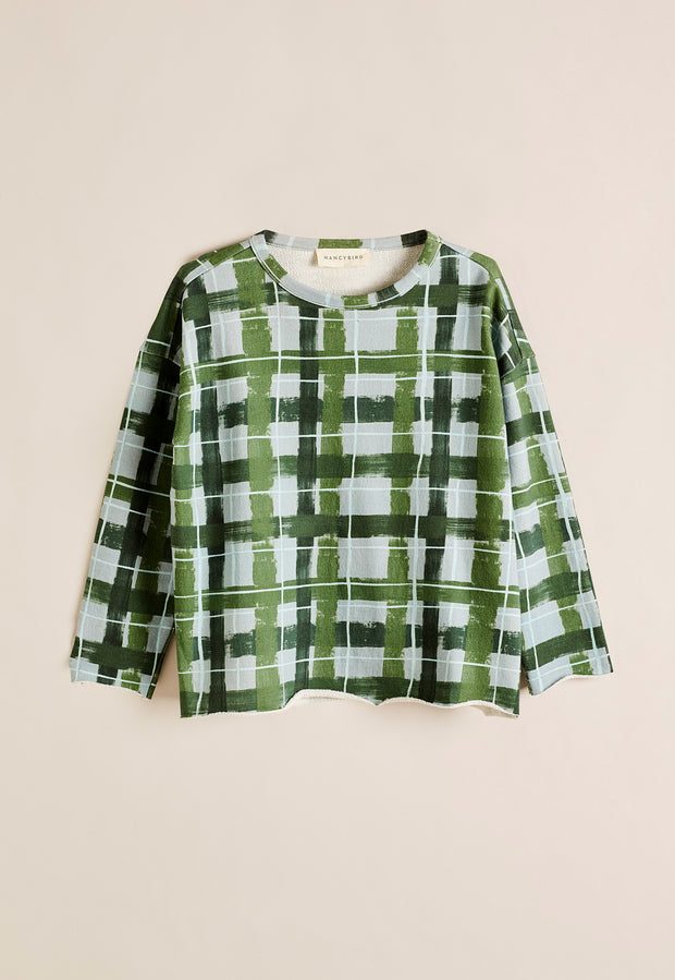Fern Sweatshirt - Painted Check