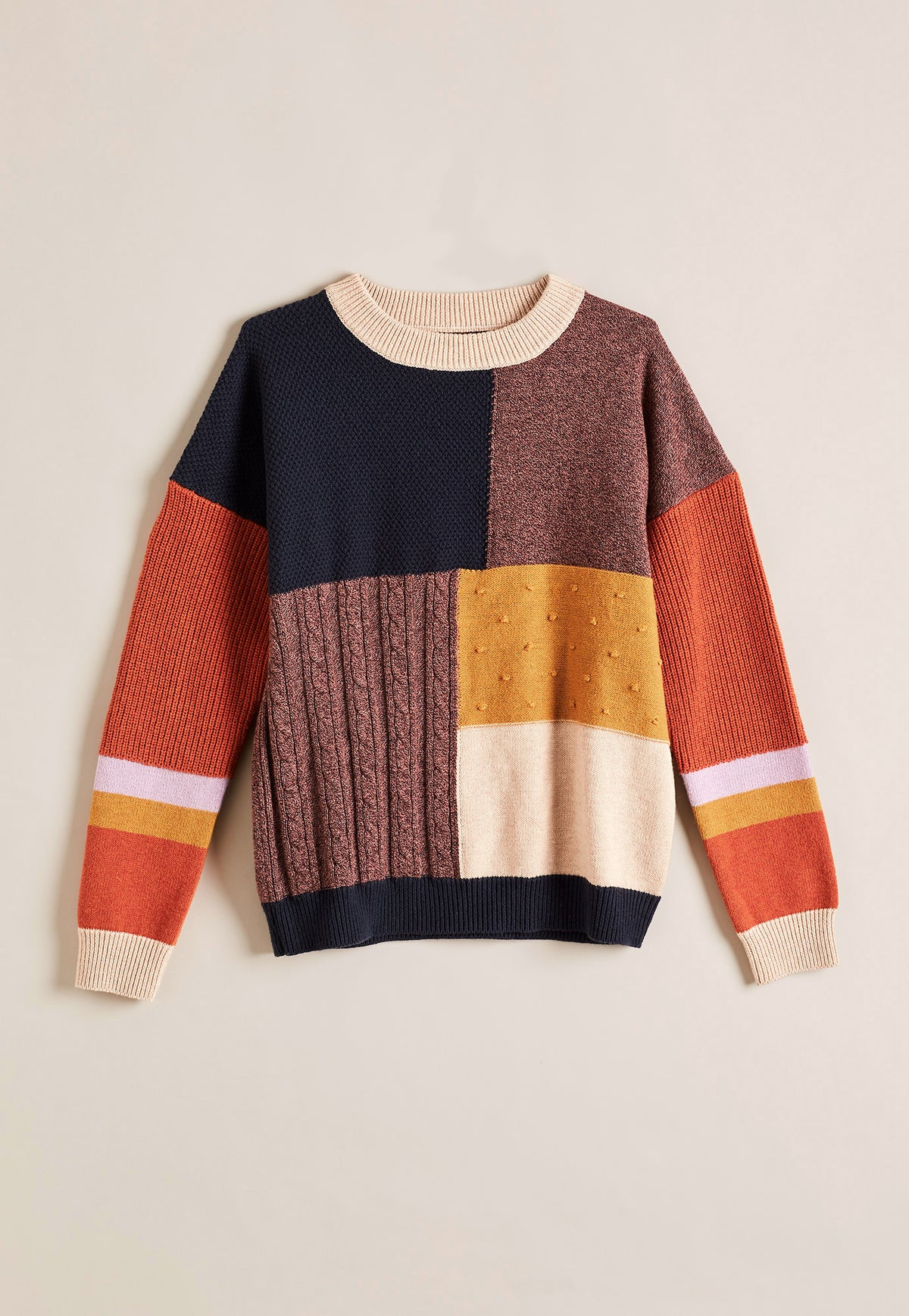 Hana Spliced  Knit - Multi