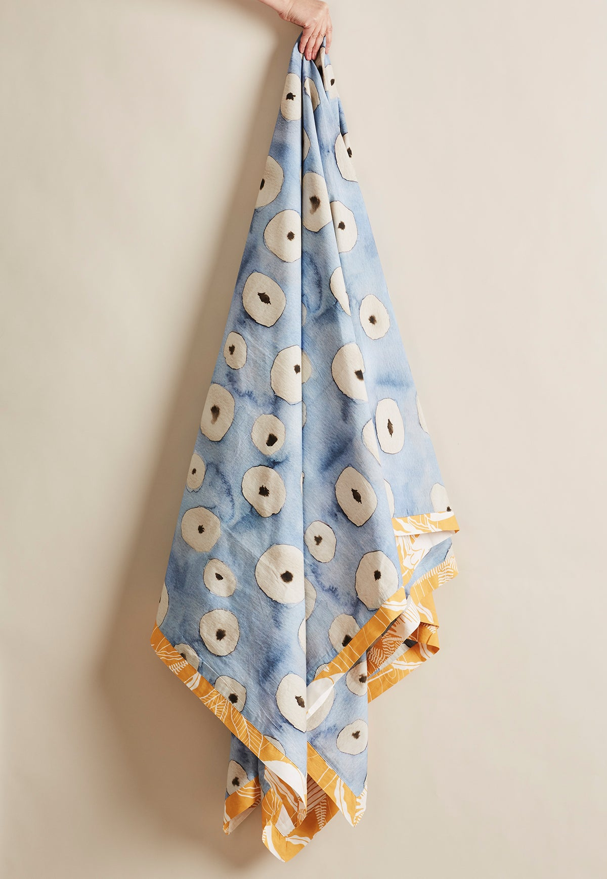 Quilt Cover King - Blue Spot