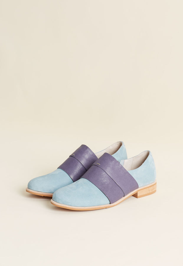 Banded Loafer - Light Blue
