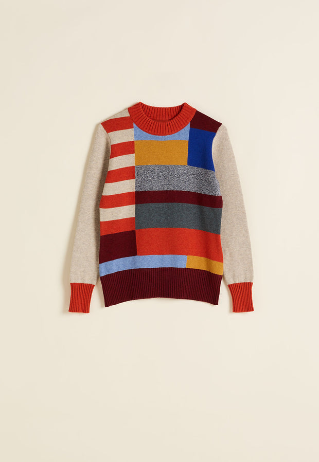 Colour Block Knit - Multi