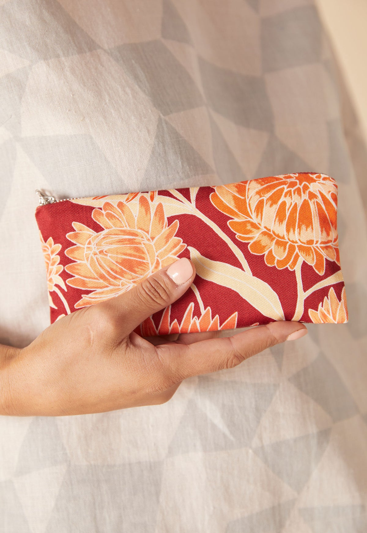 Cotton Purse - Rouge Daisy