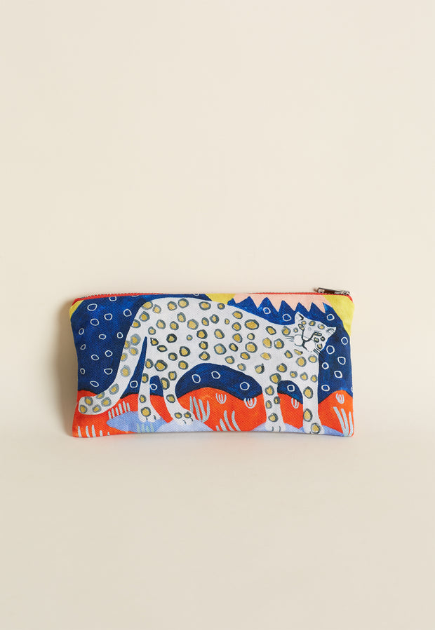 Cotton Purse - Leopard