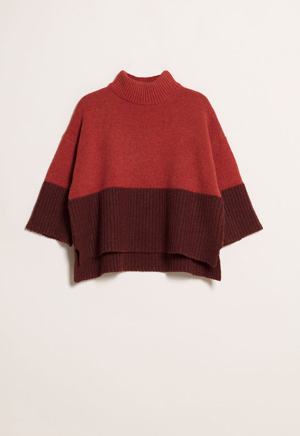 Chunky Knit Jumper - Maple