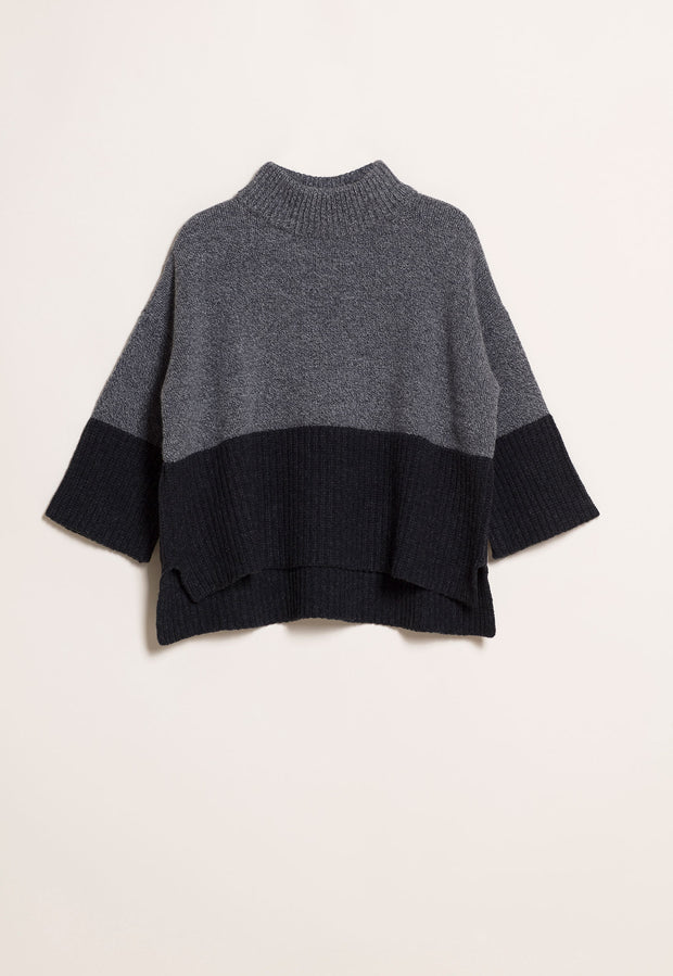 Chunky Knit Jumper - Pepper