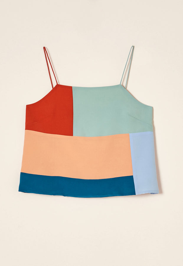 Colour Block Cami - Dusk