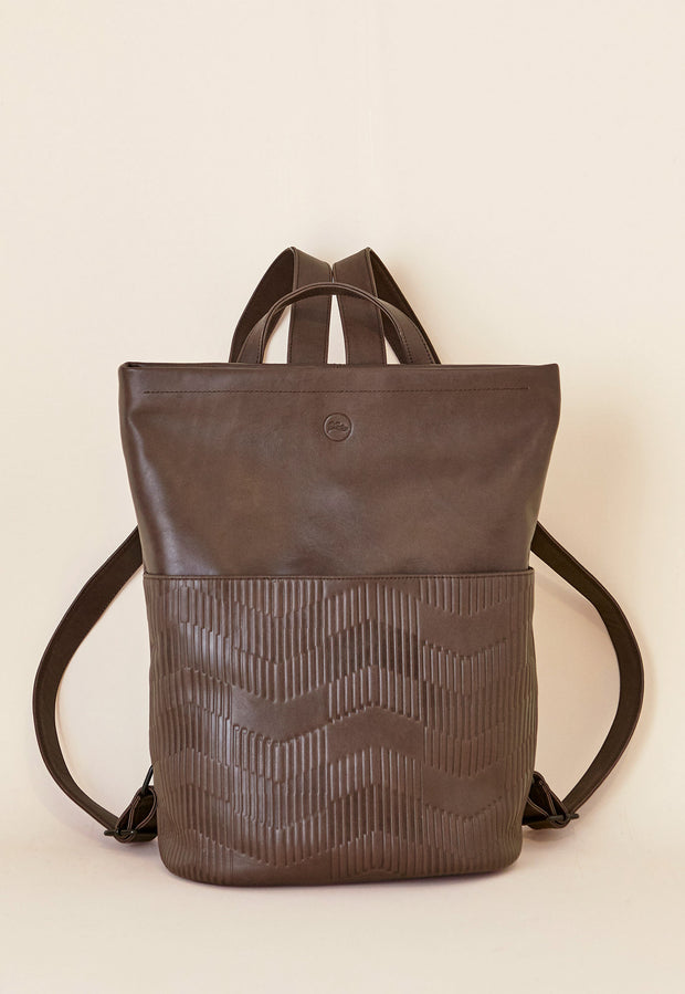 Deco Backpack - Dark Chocolate