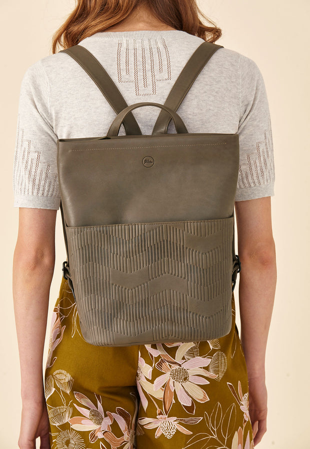 Deco Backpack  - Olive