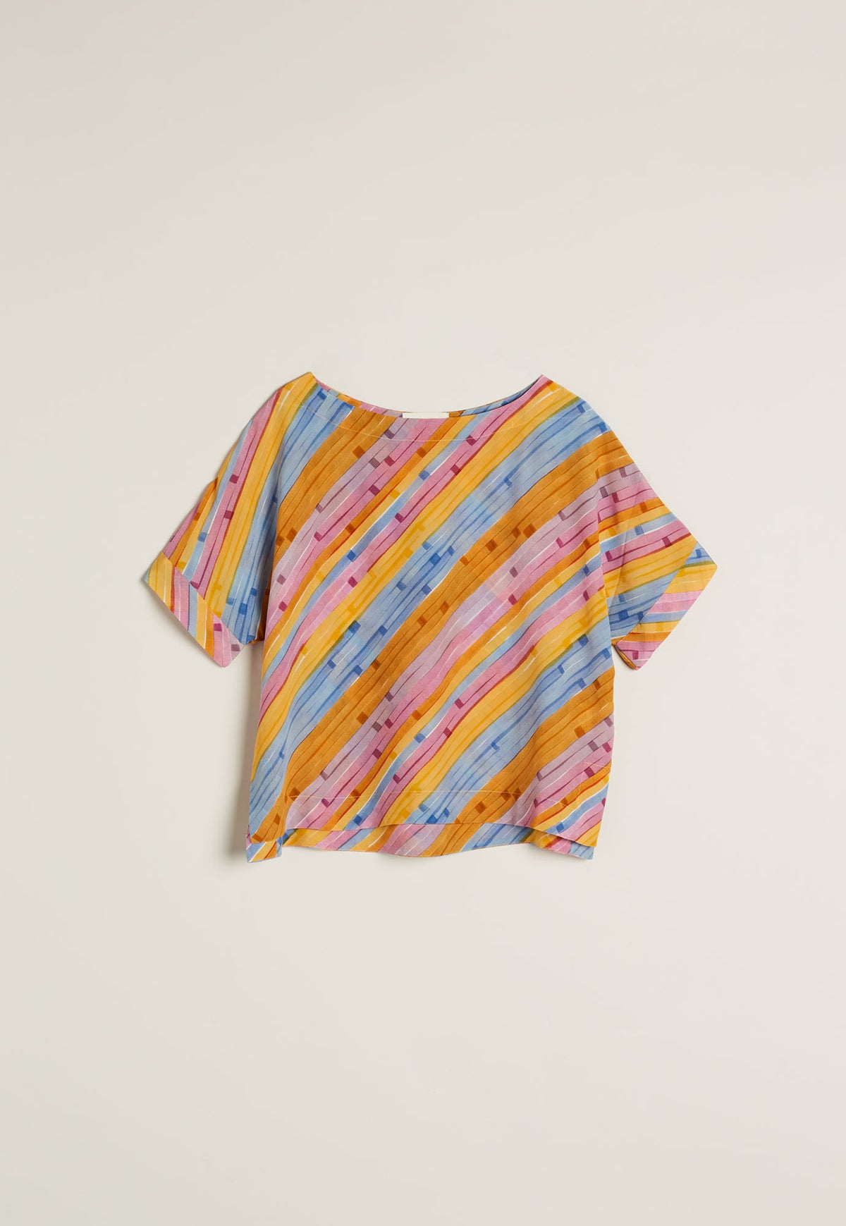 Dolman Top - Horizon Stripe