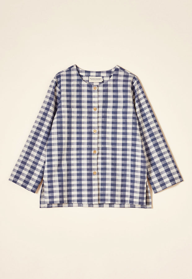 Drafters Shirt - Blue Check