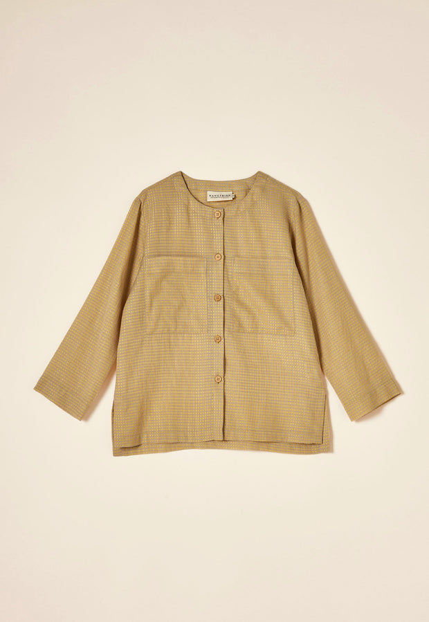 Drafters Shirt - Gold Gingham