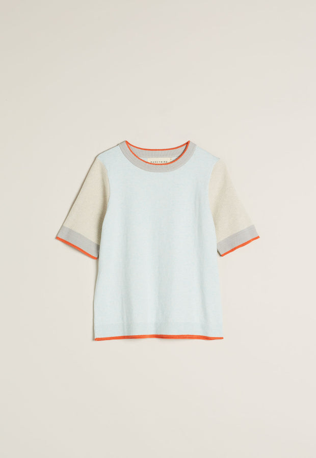 Eastment Tee - Powder Blue