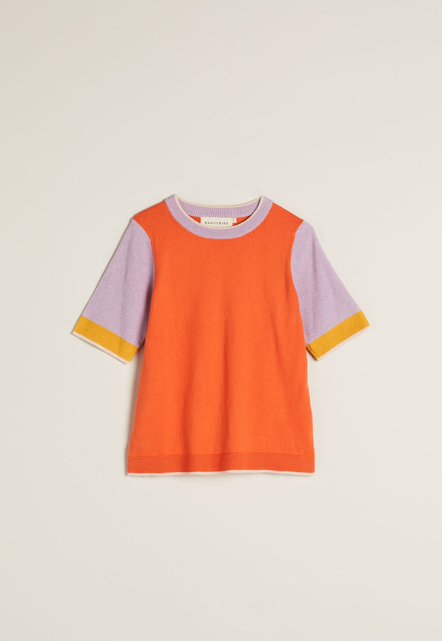 Eastment Tee - Tangerine