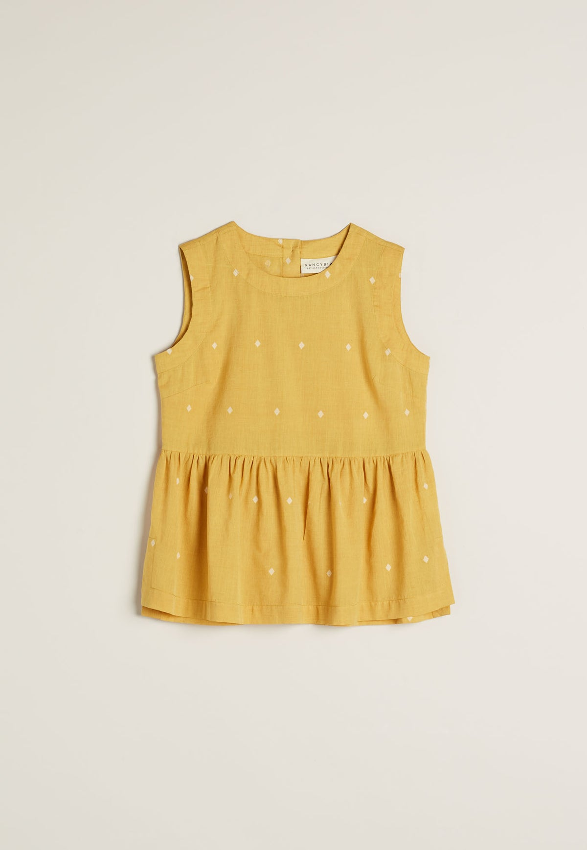Elm Top - Mustard Diamond